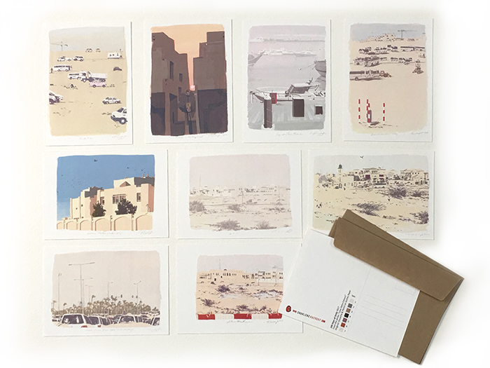 Love_Doha_Colors_postcard_set